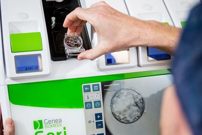 胚細胞培養器 geri incubator